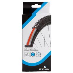 """Set met 2 lekbestendige stroken voor fietsband 20"""" tot 26"""""""