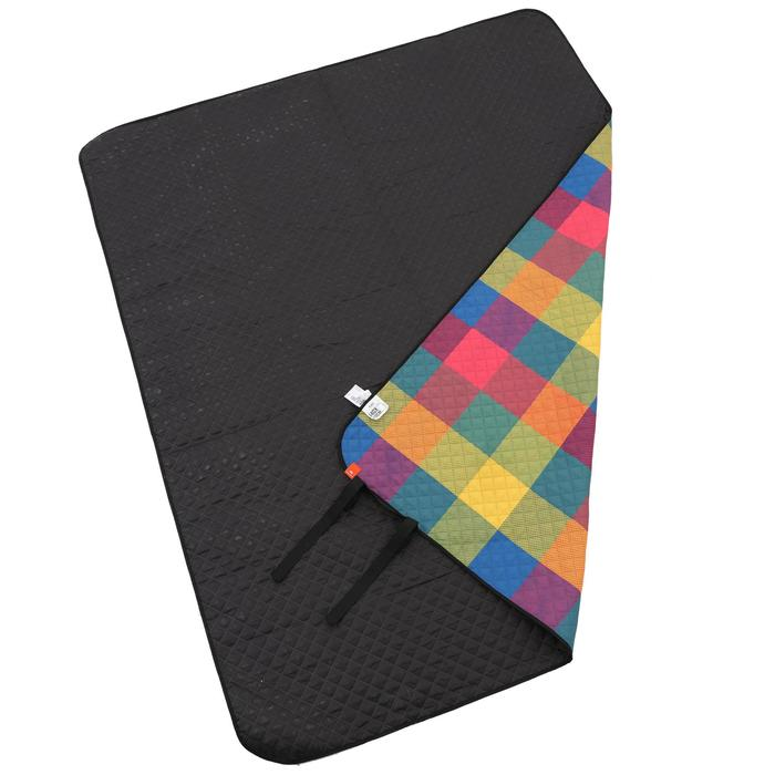 Country Walking Colourful Picnic Rug