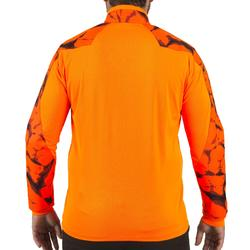 T-SHIRT CHASSE SUPERTRACK MANCHES LONGUES ORANGE FLUO