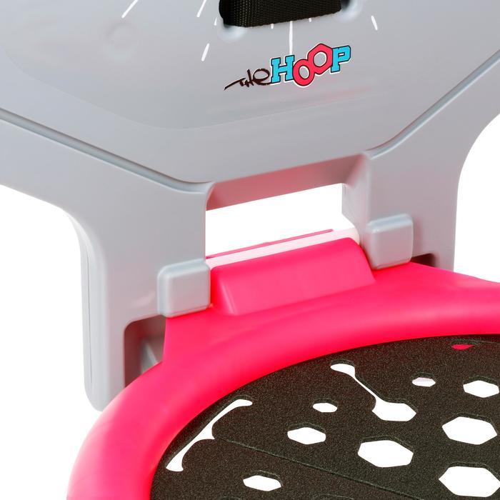 Panier de basket enfant/adulte THE HOOP Playground bleu orange. Transportable. - 1168895