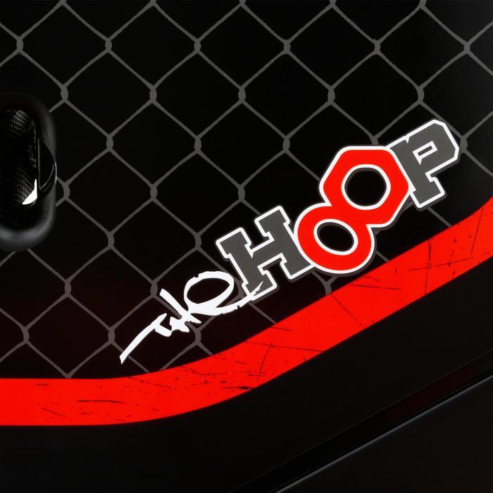 Basketballkorb The Hoop NYC schwarz/rot transportierbar