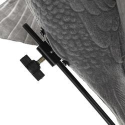 Lockvogel mit Flügelschlag + Ständer Stepflap