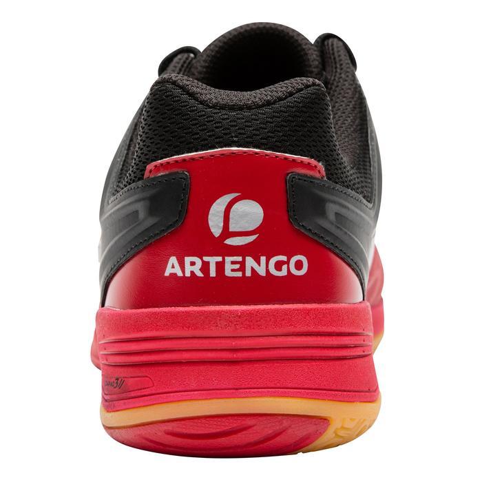 Badmintonschoenen Artengo BS860 heren zwart/rood