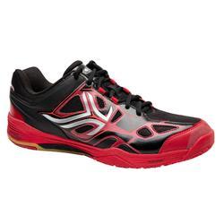 Chaussure de badminton ARTENGO BS 860 homme Noir Rouge