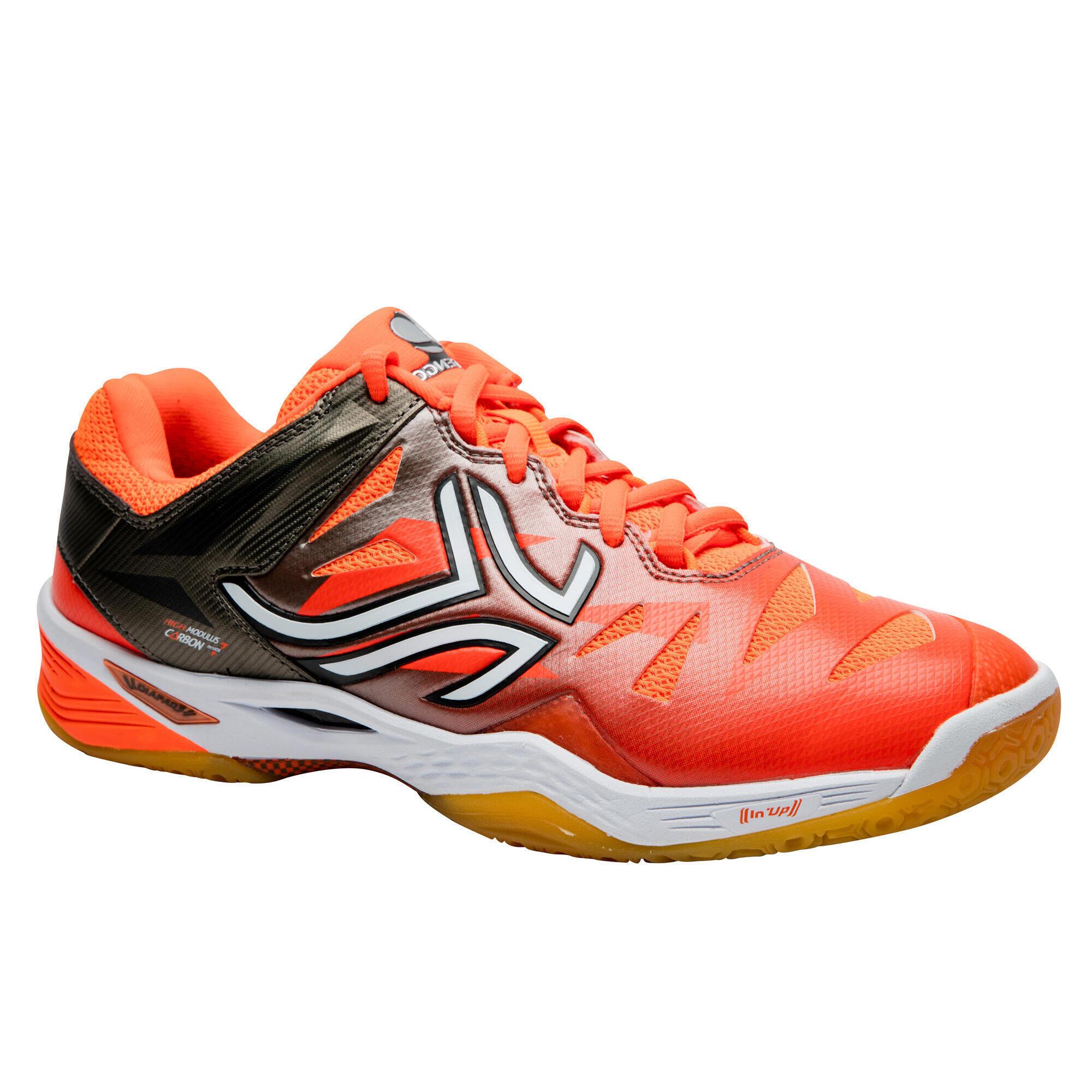 Artengo Badmintonschoenen voor heren BS990 oranje