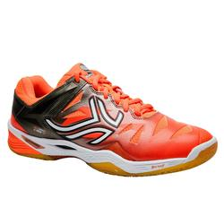 Badmintonschuhe BS990 Herren Badminton Squash orange