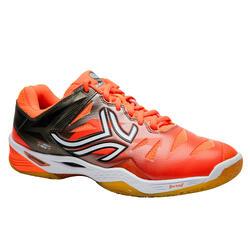 Badmintonschuhe BS990 Badminton Squash Herren orange