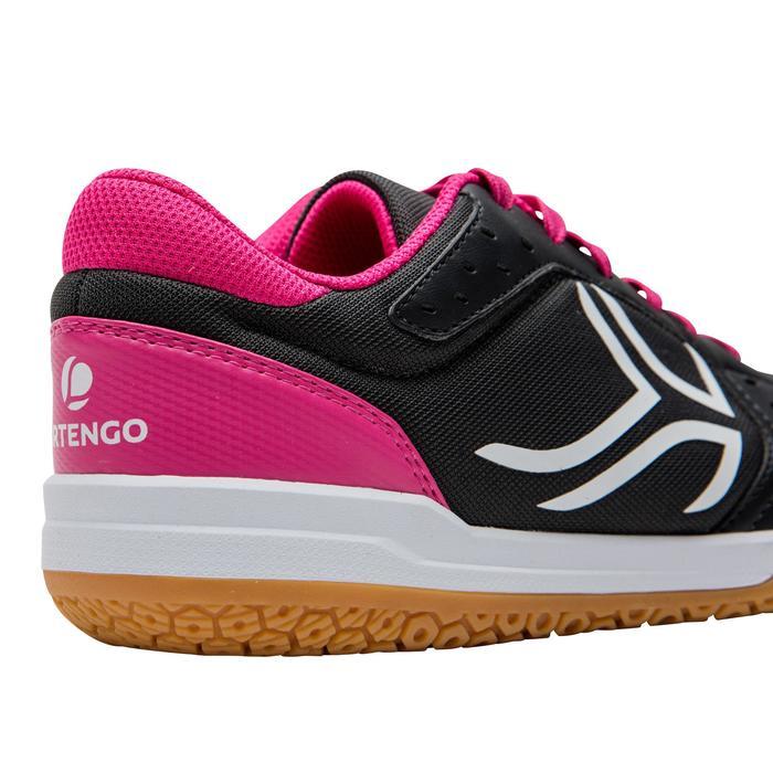 Chaussures de BAMINTON - SQUASH Artengo BS730 LADY Gris Rose - 1169084