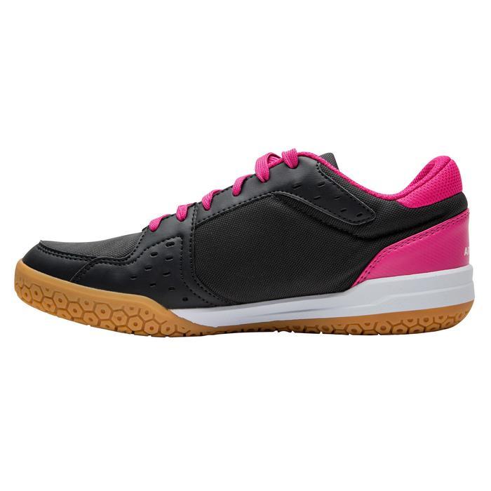 Chaussures de BAMINTON - SQUASH Artengo BS730 LADY Gris Rose - 1169085