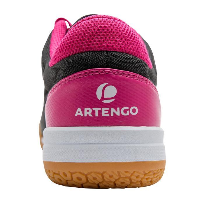Chaussures de BAMINTON - SQUASH Artengo BS730 LADY Gris Rose - 1169096