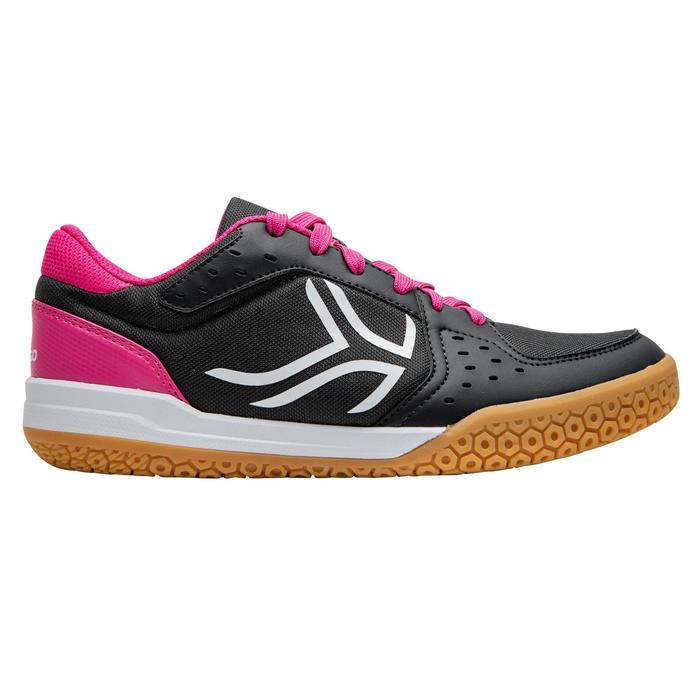 Chaussures de BAMINTON - SQUASH Artengo BS730 LADY Gris Rose - 1169101