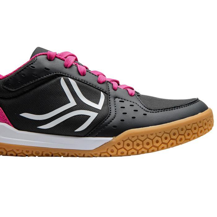 Chaussures de BAMINTON - SQUASH Artengo BS730 LADY Gris Rose - 1169105