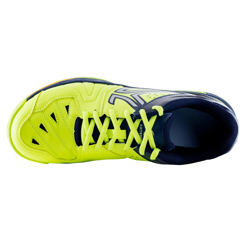 MEN'S BADMINTON SHOES - BS800 - FLASHY YELLOW