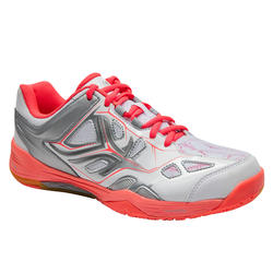 BS860 Lady Badminton Shoes - Putih/Coral
