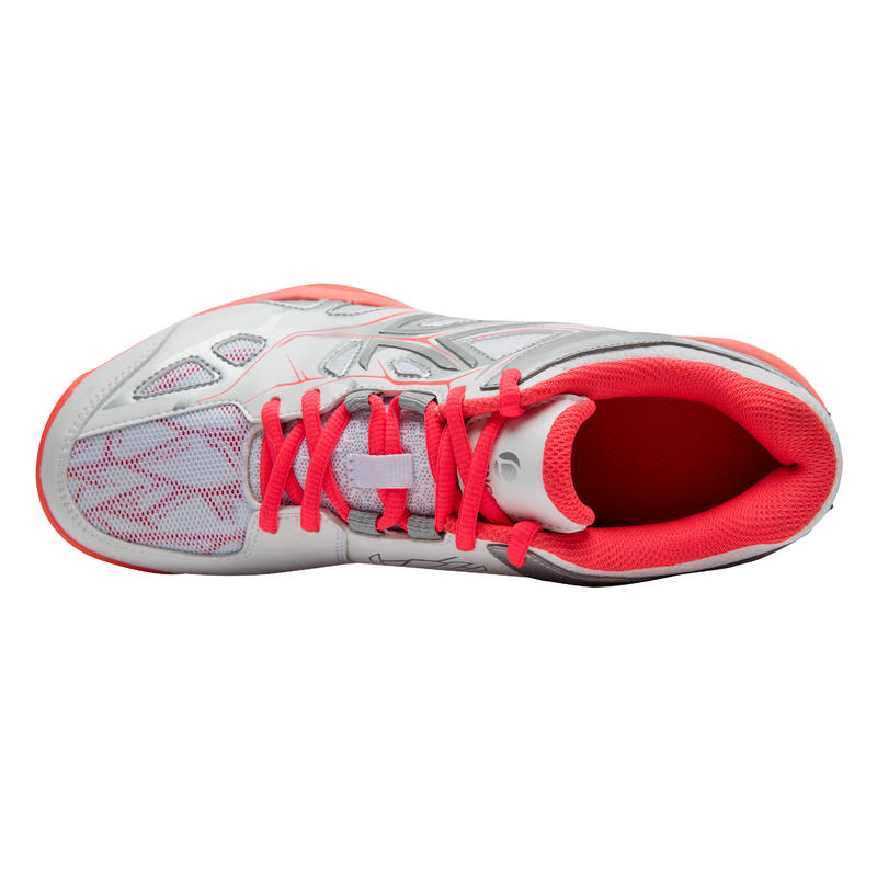 BS860 Lady Badminton Shoes - White/Coral
