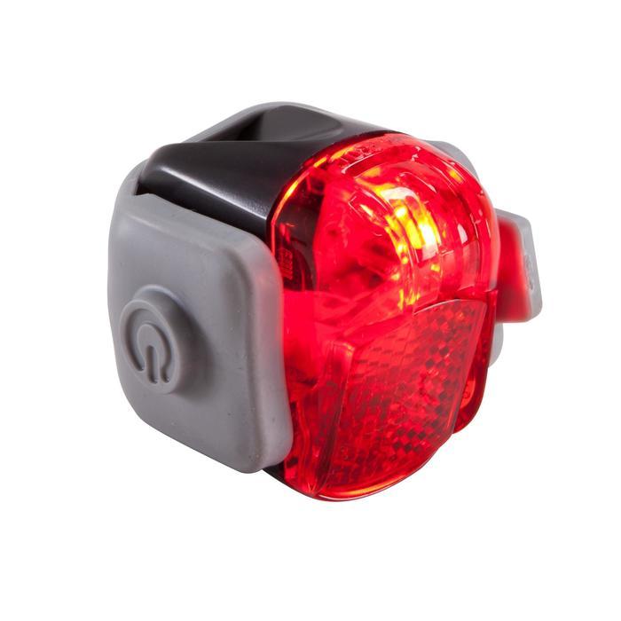 KIT ECLAIRAGE VELO LED VIOO ROAD 100 AVANT et ARRIERE A PILES - 116962