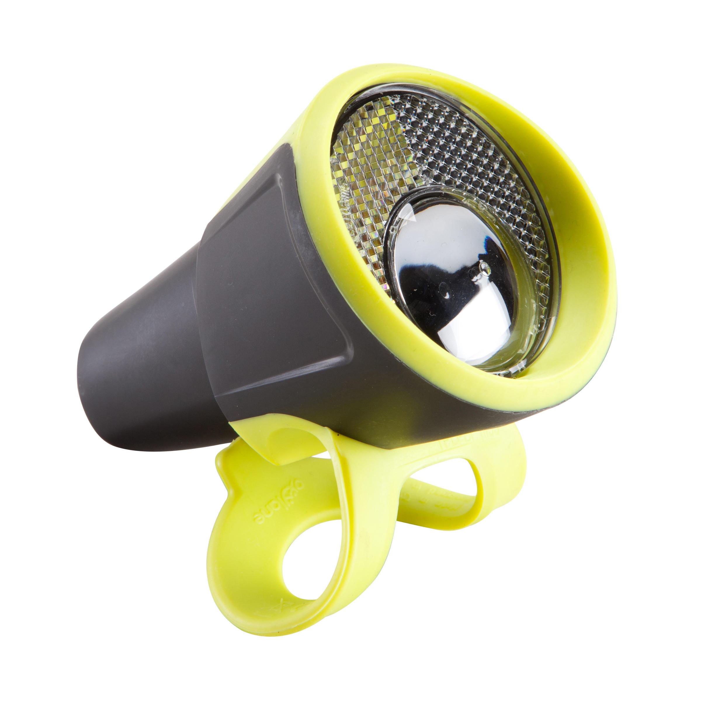 VIOO 100 Road Front/Rear LED Bike Light Set Batteries