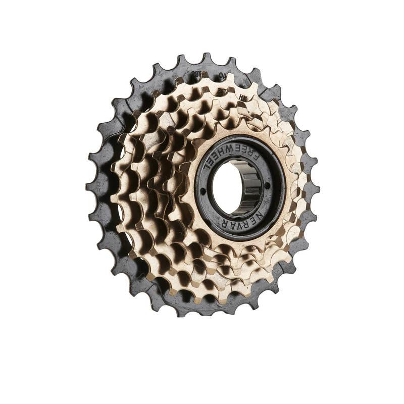 PŘEVODY NA KOLO Cyklistika - ŠROUBOVACÍ ŠESTIKOLEČKO 14×28 BTWIN - Náhradní díly na kolo