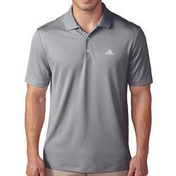 Golfpolo voor heren grijs