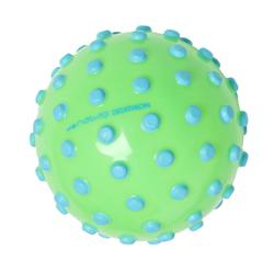 FUNNY BALL small pool ball green with blue studs