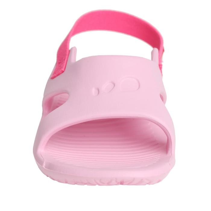 女童泳池拖鞋Slap 100 - 粉紅色