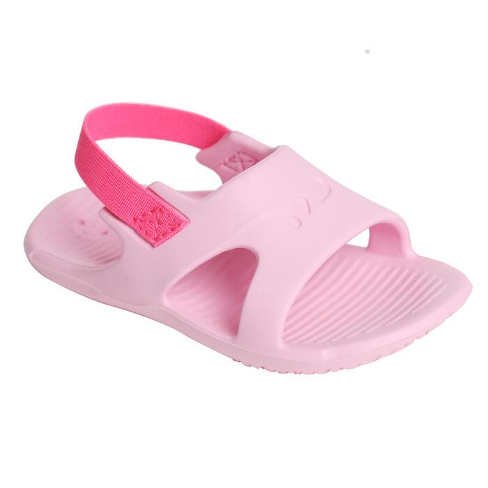 女童泳池涼鞋NATASLAP - 粉紅色
