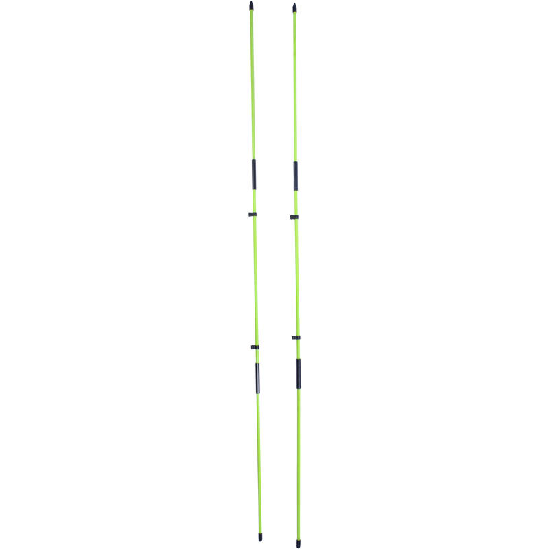 Alignment sticks - x2 Yellow