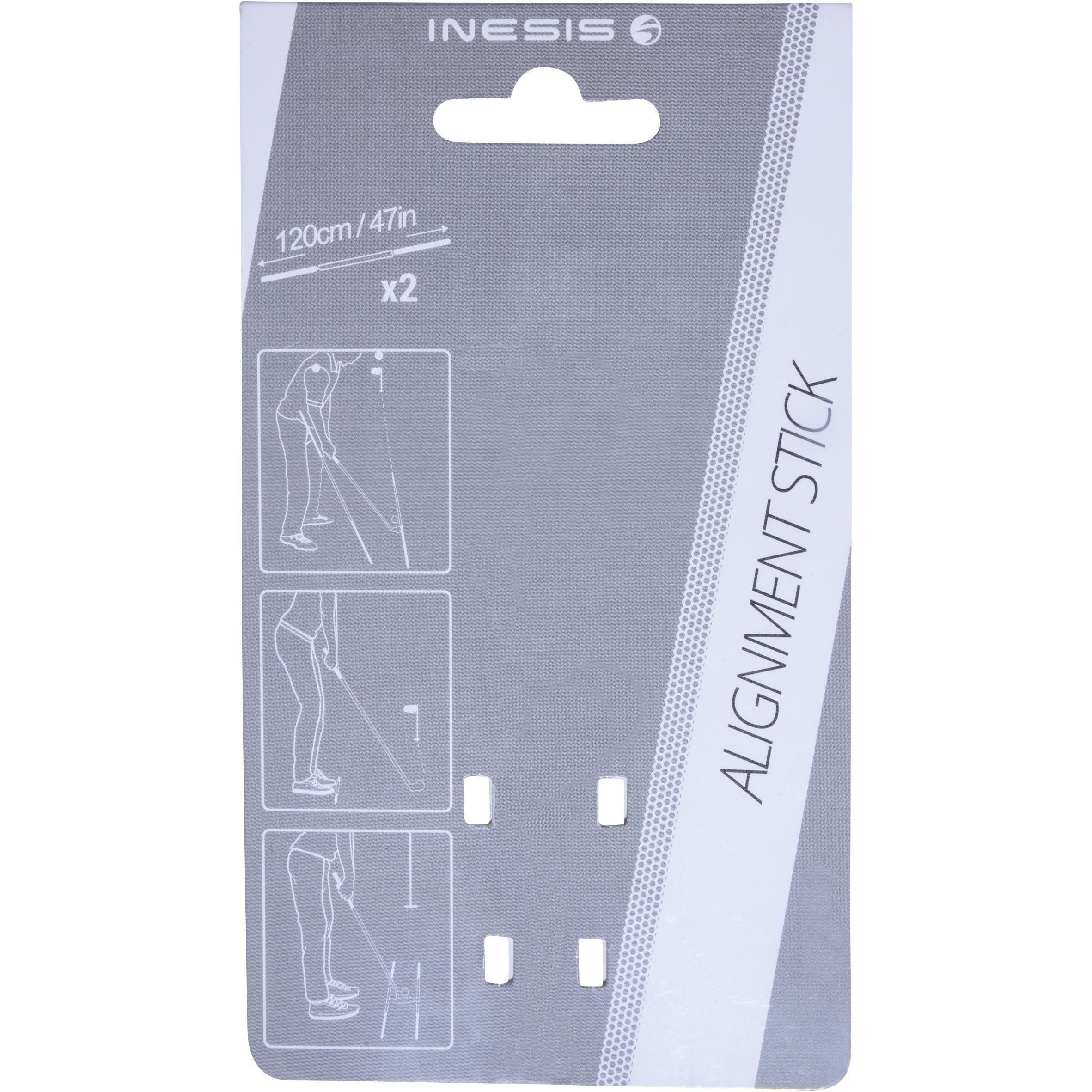 Golf Alignment Sticks - X2 Green