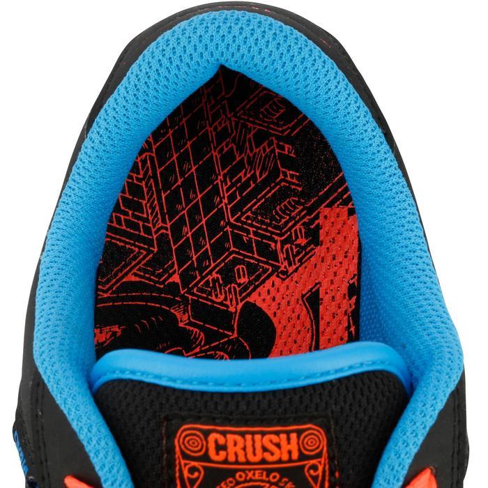 Chaussure de skate enfant CRUSH BEGINNER noire verte - 1171293