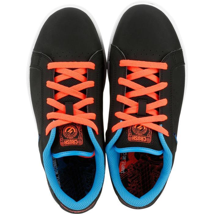Chaussure de skate enfant CRUSH BEGINNER noire verte - 1171298