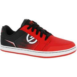 Crush 兒童橡膠滑板鞋 - 紅色/黑色