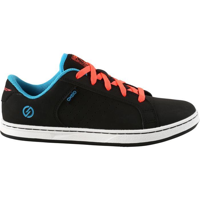 Chaussure de skate enfant CRUSH BEGINNER noire verte - 1171318