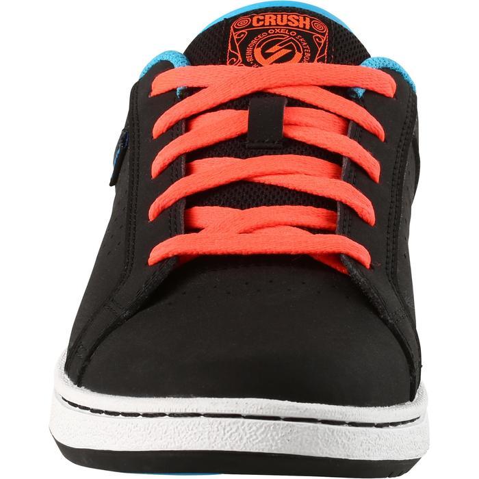 Chaussure de skate enfant CRUSH BEGINNER noire verte - 1171335