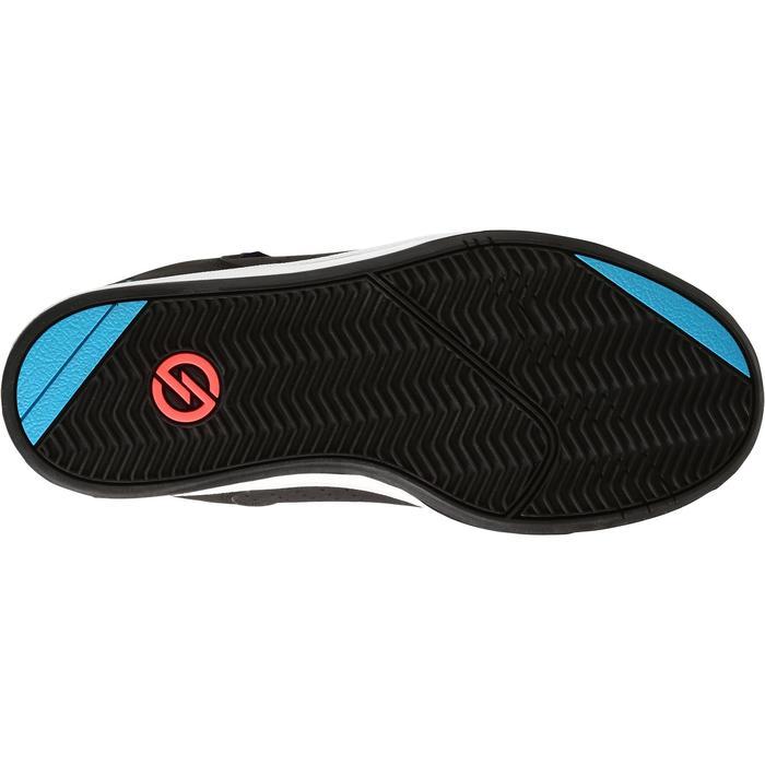 Chaussure de skate pour enfant CRUSH 100 noire bleu