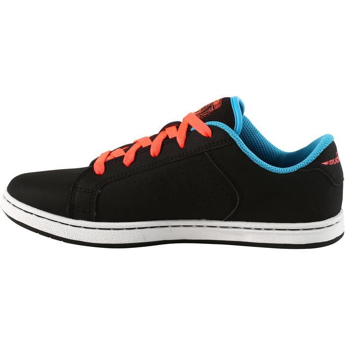 Chaussure de skate enfant CRUSH BEGINNER noire verte - 1171347