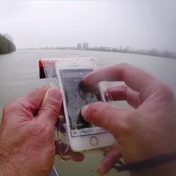 Waterdicht telefoonhoesje voor kleine smartphone IPX7