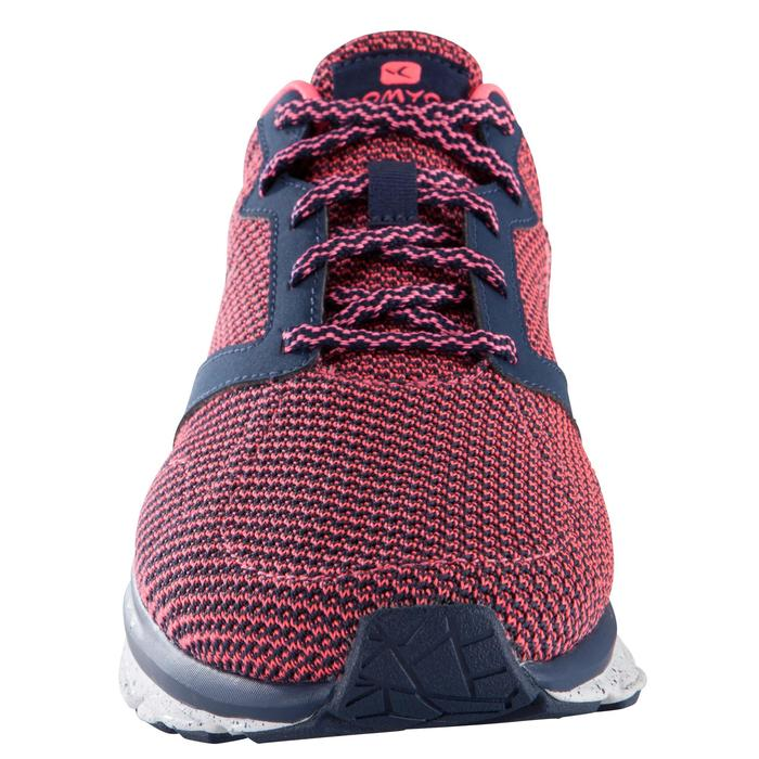 Chaussure fitness cardio femme bleu et rose Energy 500 - 1171424