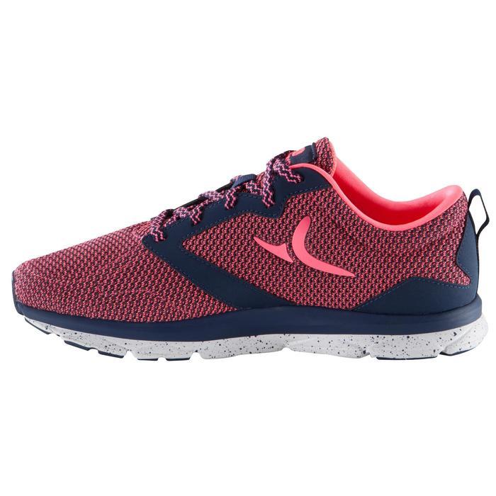 Chaussure fitness cardio femme bleu et rose Energy 500 - 1171440