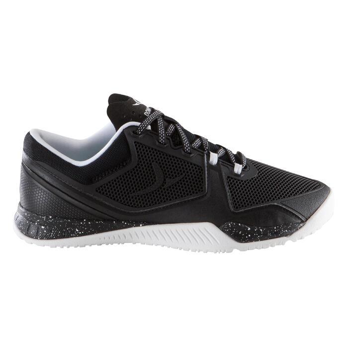 Chaussure de cross training femme noir et blanche Strong 900 - 1171481