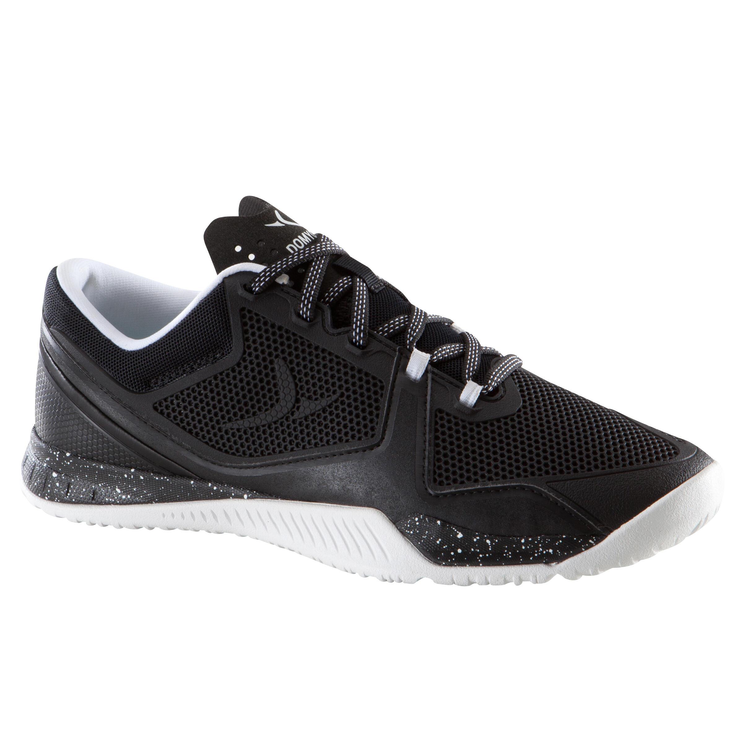 Chaussure de cross-fit femme noir et blanche Strong 900