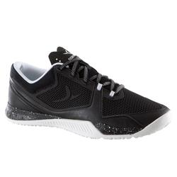 Zapatillas de cross training mujer negro y blanco Strong 900