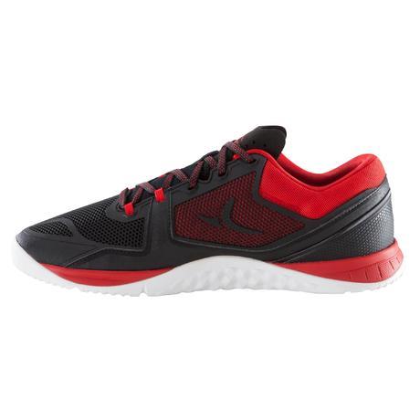 chaussure de cross training homme noir et rouge strong 900. Black Bedroom Furniture Sets. Home Design Ideas