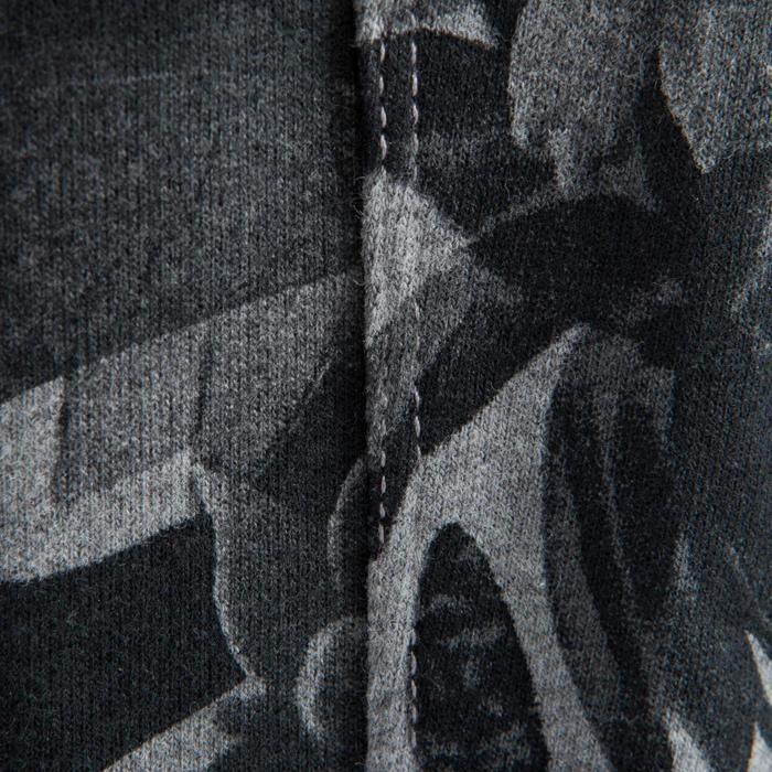Dans wortelbroek voor dames camouflage grijs
