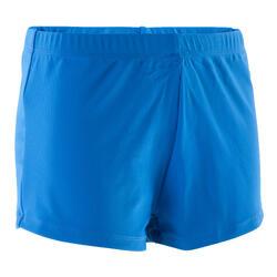 Pantalón Corto Deportivo Gimnasia Artística Masculina Domyos 100 Azul Short