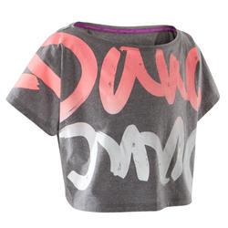 T-shirt danse gris...