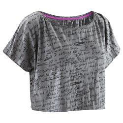Camiseta corta de...