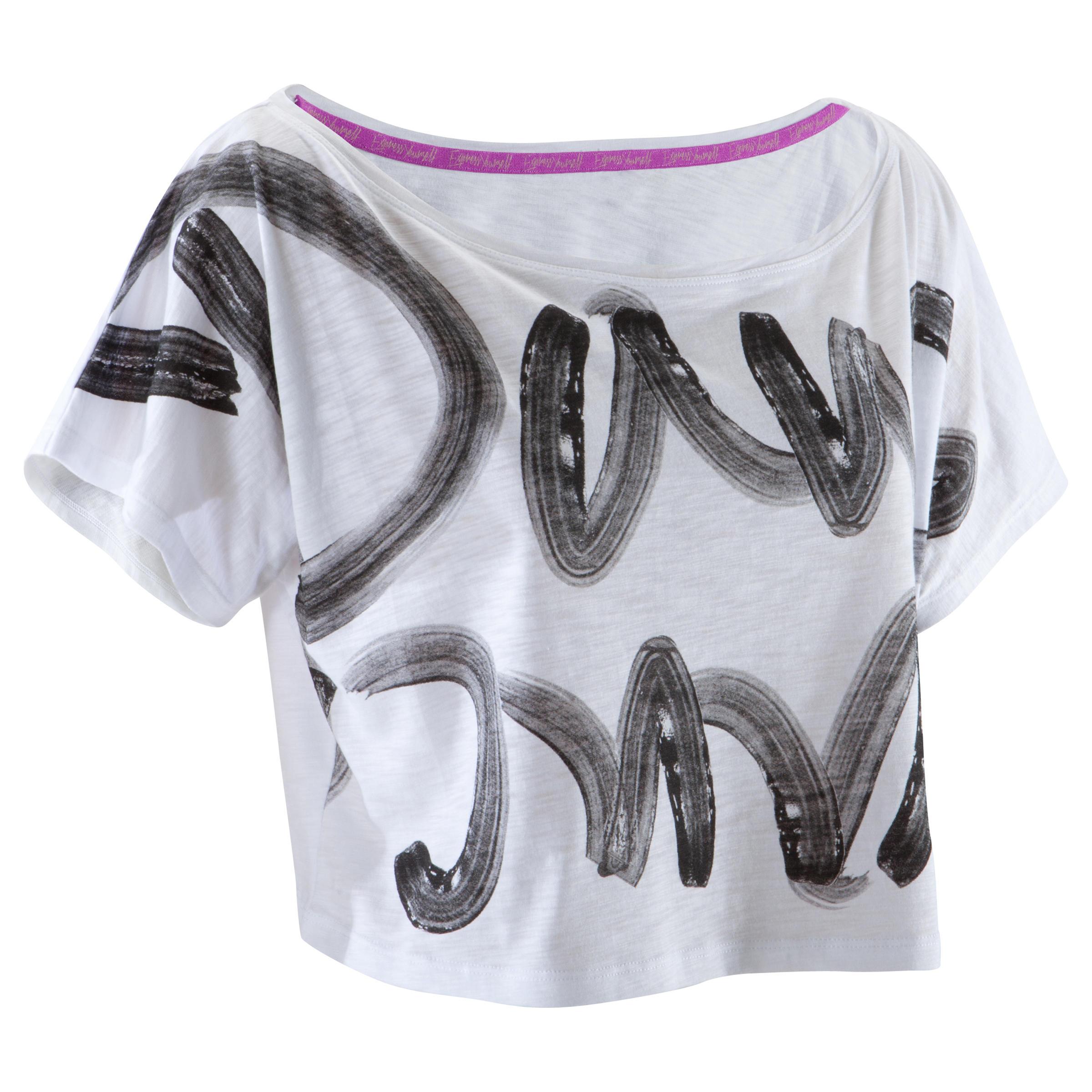 Domyos Kort dans T-shirt voor dames