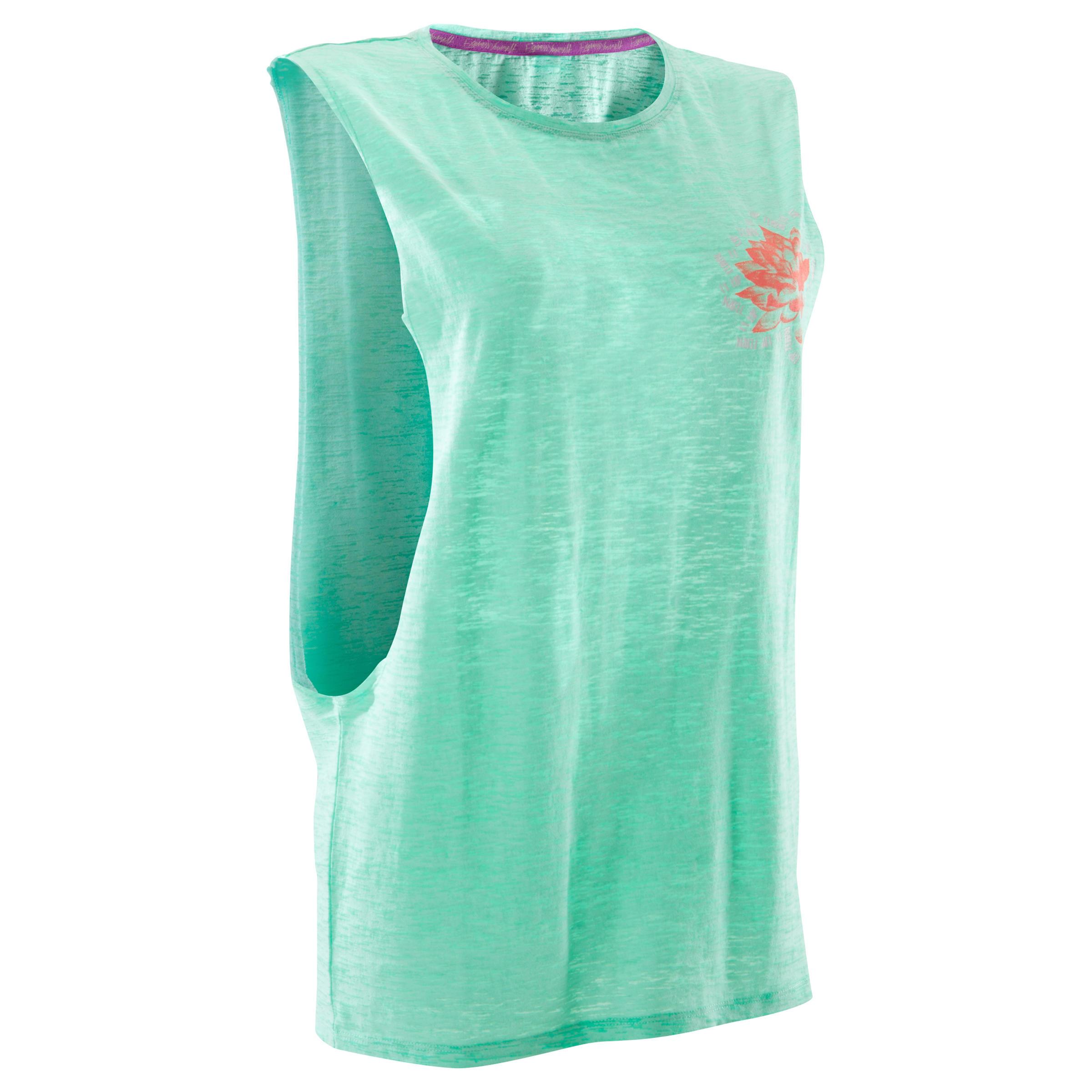 Domyos Mouwloos dansshirt voor dames