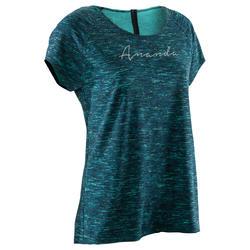 Women's Organic-Cotton Yoga T-Shirt - Green
