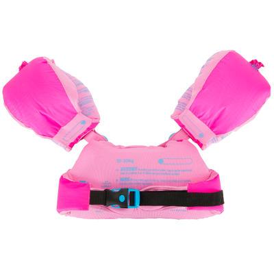 Flotador brazo-cinturón evolutivo estampado _QUOTE_GIGI_QUOTE_ 15-30Kg TISWIM rosado